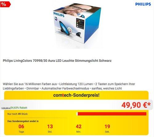 Philips Living Colors Aura LED Leuchte - jetzt 24% billiger