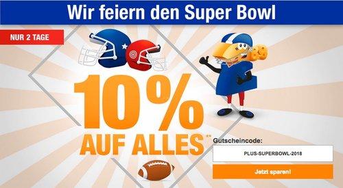Plus.de Onlineshop - 10% Rabatt auf fast Alles bus zum 05.02.18 - jetzt 10% billiger