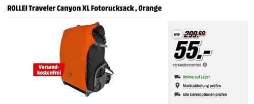 ROLLEI Traveler Canyon XL Fotorucksack - jetzt 58% billiger