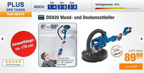 Scheppach DS920 Wand- und Deckenschleifer - jetzt 9% billiger