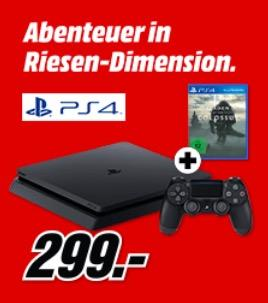 SONY PlayStation 4 Slim 500GB + Shadow of the Colossus - jetzt 13% billiger