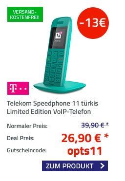 Telekom Speedphone 11 türkis - jetzt 33% billiger