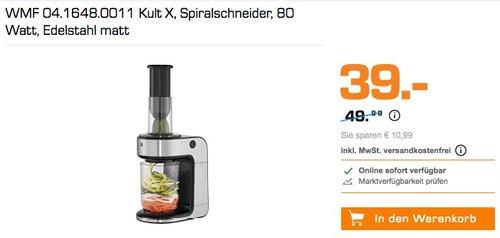 WMF KULT X Spiralschneider - jetzt 20% billiger