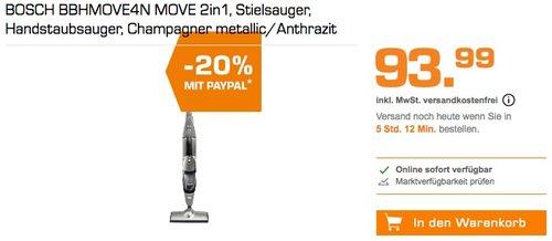 BOSCH BBHMOVE4N MOVE 2in1 Stielsauger - jetzt 20% billiger