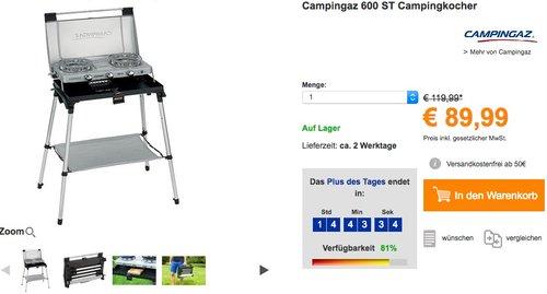 Campingaz 600 ST Campingkocher - jetzt 24% billiger