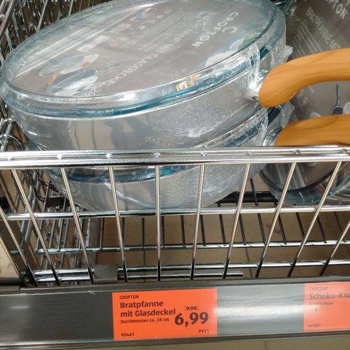 CASALUX Bratpfanne mit Glasdeckel 28 cm - jetzt 30% billiger