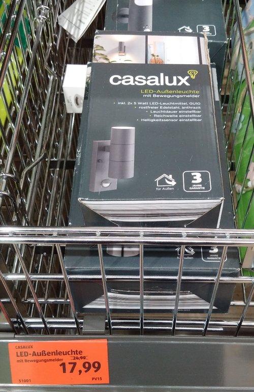 casalux LED-Außenleuchte - jetzt 28% billiger