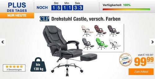 CLP Drehstuhl CASTLE - jetzt 20% billiger