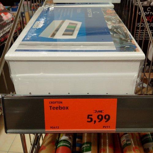 CROFTON Teebox - jetzt 25% billiger