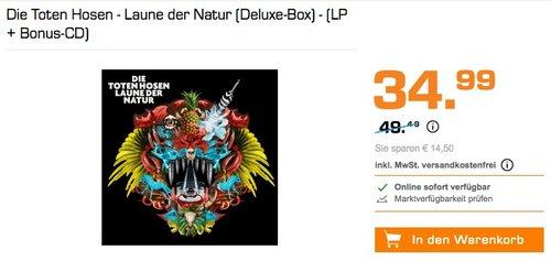 Die Toten Hosen - Laune der Natur (Deluxe-Box) - (LP + Bonus-CD) - jetzt 20% billiger
