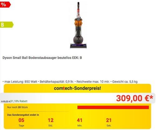 Dyson Small Ball Bodenstaubsauger - jetzt 11% billiger