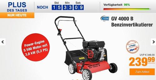 Güde GV 4000 B Benzinvertikutierer - jetzt 18% billiger