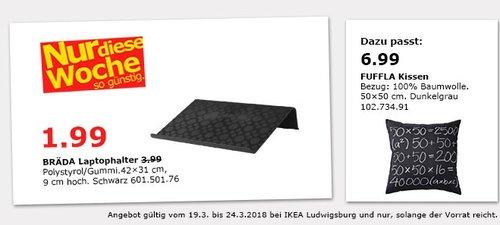 IKEA BRÄDA Laptophalter - jetzt 50% billiger