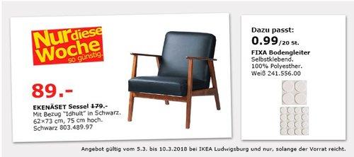 IKEA EKENÄSET Sessel - jetzt 50% billiger