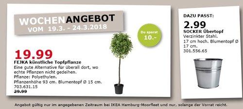 IKEA FEJKA künstliche Topfpflanze - jetzt 33% billiger