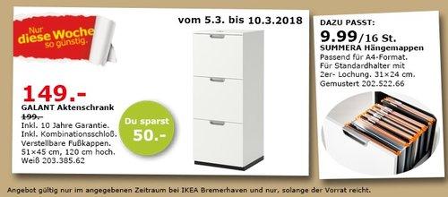 IKEA GALANT Aktenschrank - jetzt 25% billiger
