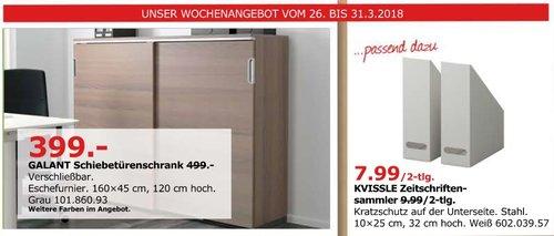 IKEA GALANT Schiebetürenschrank - jetzt 20% billiger