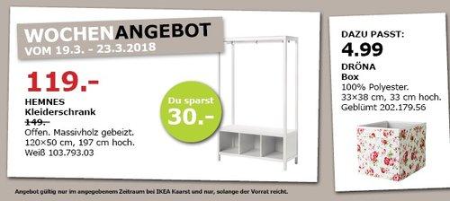 IKEA HEMNES Kleiderschrank - jetzt 20% billiger