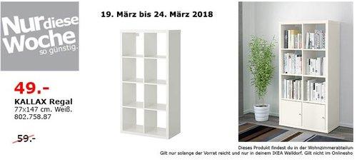 IKEA KALLAX Regal - jetzt 17% billiger