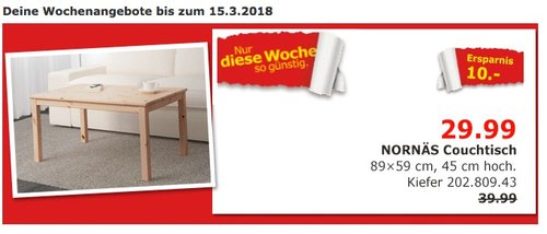 Ikea Nornäs Couchtisch Für 2999 25