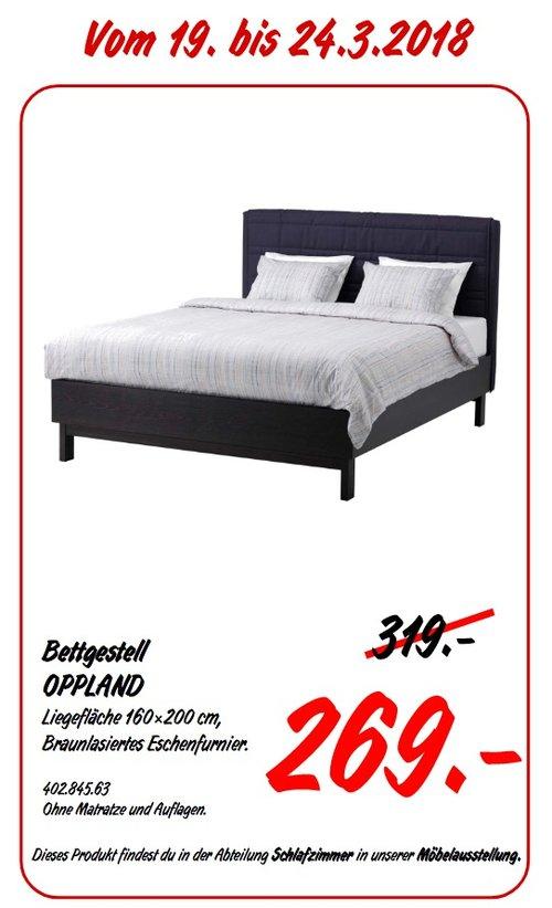IKEA OPPLAND Bettgestell - jetzt 16% billiger