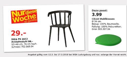 IKEA PS 2012 Armlehnstuhl - jetzt 51% billiger