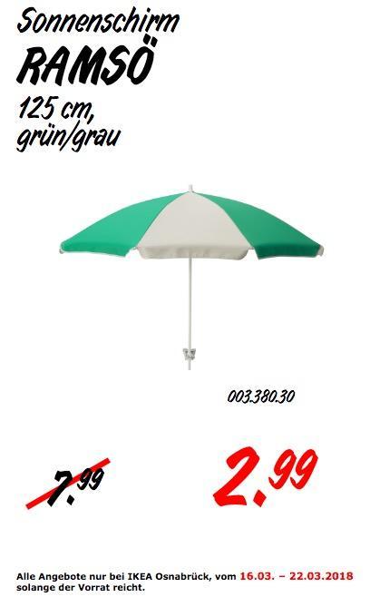 IKEA RAMSÖ Sonnenschirm - jetzt 63% billiger
