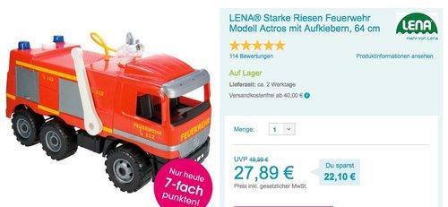LENA - Starke Riesen Feuerwehr Actros - jetzt 19% billiger
