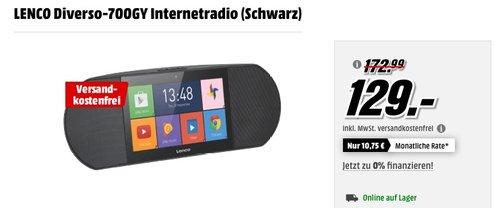 LENCO Diverso-700GY Internetradio - jetzt 19% billiger