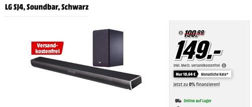 LG SJ4 2.1 Soundbar - jetzt 12% billiger