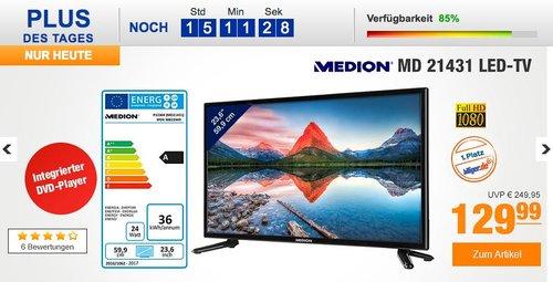 MEDION LIFE P12304 MD 21431 59,9 cm 23,6 Zoll Full HD Fernseher - jetzt 32% billiger
