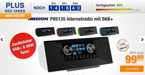 MEDION® LIFE® P85135 WLAN Internet-Radio rot - jetzt 9% billiger