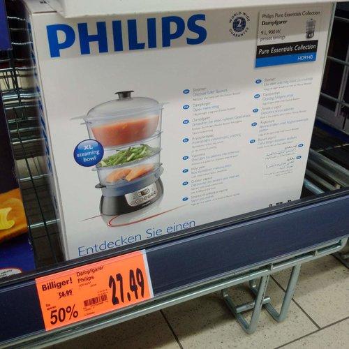 Philips HD9140-91 Dampfgarer - jetzt 50% billiger
