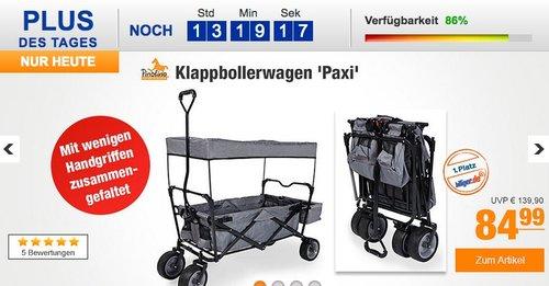 Pinolino Klappbollerwagen 'Paxi' - jetzt 5% billiger
