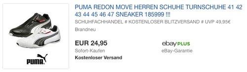 Puma  Redon Move Herren Turnschuhe - jetzt 23% billiger