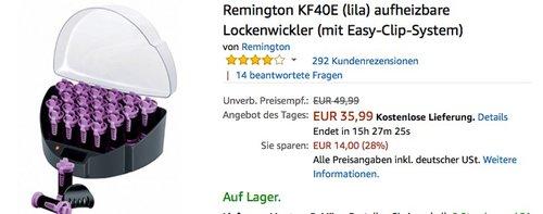 Remington KF40E aufheizbare Lockenwickler - jetzt 18% billiger