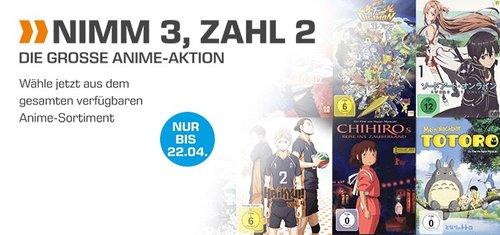 Saturn 3 für 2 Anime Aktion:  3 Anime Titel  kaufen und günstigsten Artikel kostenlos erhalten - jetzt 28% billiger