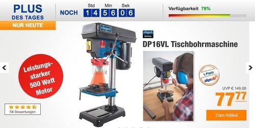 Scheppach DP16VL Tischbohrmaschine für 77,77€ - jetzt 13% billiger