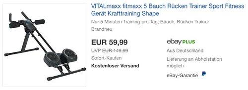 VITALmaxx 5 Trainingsgerät - jetzt 25% billiger