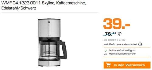 WMF 04.1223.0011 Skyline  Kaffeemaschine für 39€ - jetzt 44% billiger