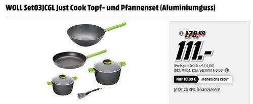 WOLL SET03JCAL Topf- und Pfannenset (Aluminiumguss) - jetzt 31% billiger