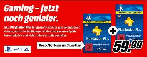 15 MonatePlayStation Plus Mitgliedschaft - jetzt 29% billiger