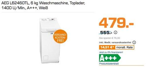 AEG L62460TL 6 kg Waschmaschine Toplader - jetzt 15% billiger