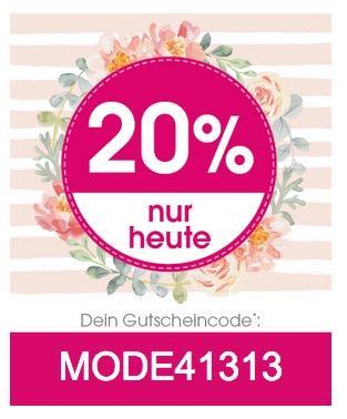 Babymarkt.de: 20% Rabatt auf Mode - jetzt 20% billiger