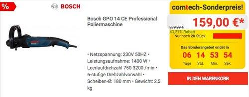 Bosch GPO 14 CE Professional Poliermaschine - jetzt 17% billiger