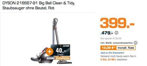 DYSON 216667-91 Big Ball Clean & Tidy - jetzt 17% billiger