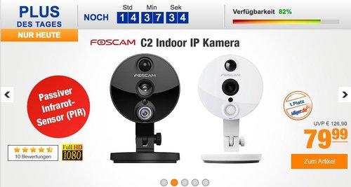 Foscam Indoor IP Kamera C2 weiß - jetzt 10% billiger