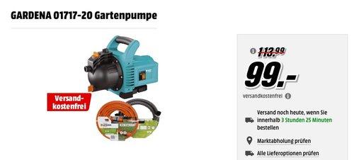 GARDENA 01717-20 Gartenpumpe - jetzt 17% billiger