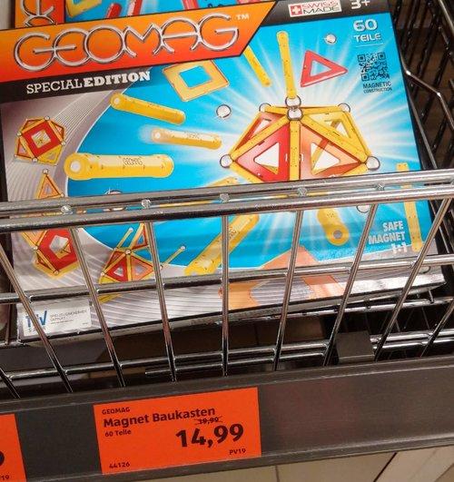 GEOMAG Magnet Baukasten 60 Teile - jetzt 25% billiger
