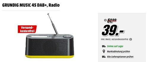 GRUNDIG MUSIC 45 DAB+ Radio - jetzt 13% billiger